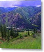 The Entiat Valley  Metal Print