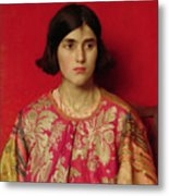 The Exile - Heavy Is The Price I Paid For Love Metal Print by Thomas Cooper Gotch