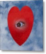 The Eye Of The Heart Metal Print