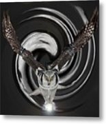 The Eyes Of Nature Are Watching You Metal Print