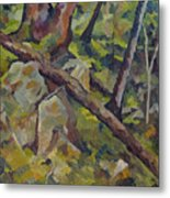 The Fallen Tree Metal Print