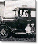 The Family Car Metal Print