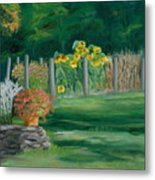 The Farm Gardens Metal Print
