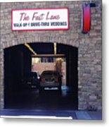 The Fast Lane 2 Metal Print