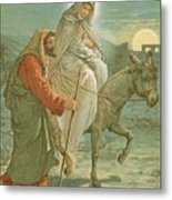 The Flight Into Egypt Metal Print by John Lawson