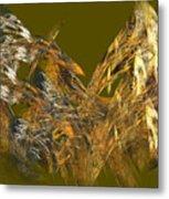 The Flight Of The Bird Metal Print