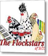 The Flockstars Metal Print by Sarah Rosedahl