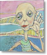 The Friendless Boy Metal Print