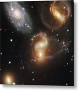 The Galaxies Of Stephans Quintet Metal Print