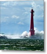 The Gale Of October Metal Print
