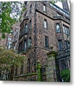 The Gates Of Yale Metal Print