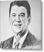 The Gipper Metal Print