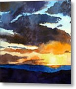 The Glory Of The Sunset Metal Print
