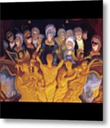 The Grand Balcony Scene Metal Print