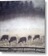The Grazers Metal Print