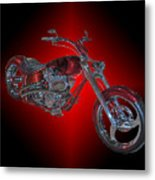 The Harley Metal Print