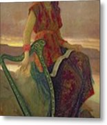 The Harpist Metal Print