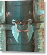 The Heron Daze Metal Print