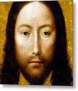 The Holy Face Metal Print by Flemish School
