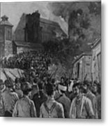 The Homestead Steel Strike Riot Metal Print by Everett