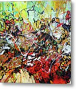 The Illusion Of Time Metal Print