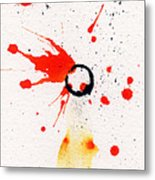 The Inexplicable Ignition Of Time Expanding Into Free Space Phase Two Number 17 Metal Print