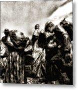 The Irish Exodus Metal Print