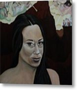 The Judgment Of Casey Anthony The Sacrifice Of Caylee Anthony Metal Print by Angelo Thomas