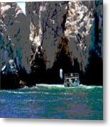 The Keyhole Mexico Cabo San Lucas Metal Print