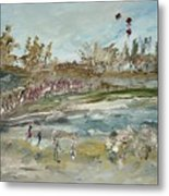 The Kite Runners Metal Print