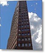 The Kollhoff-tower ...  Metal Print by Juergen Weiss