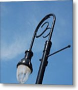 The Lamp Post Metal Print