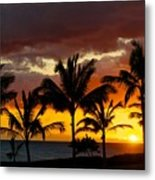 The Last Sunset Metal Print by James Walsh