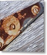 The Latch Metal Print