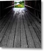 The Light At The End Of The Winter Metal Print