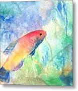 The Little Fish Metal Print