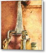 The Living Water Metal Print by Denise Armstrong