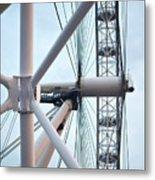 The London Eye Metal Print by Martin Howard