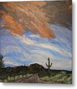 The Lonely Road Metal Print