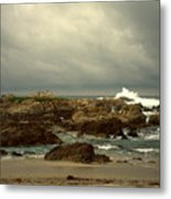The Lonely Sea And Sky Metal Print