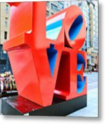 The Love Sculpture Metal Print by Paul Ward