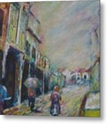 The Malacca Street Metal Print