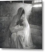 The Manger, By Gertrude Kasebier, Shows Metal Print