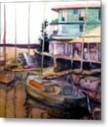 The Marina Metal Print