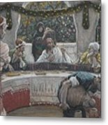 The Meal In The House Of The Pharisee Metal Print