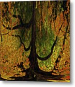 The Melting Tree Metal Print