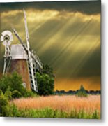 The Mill On The Marsh Metal Print