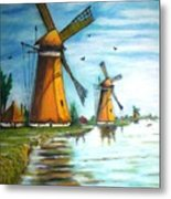 The Mills Of Holland Metal Print