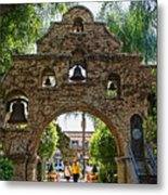 The Mission Inn Entrance Metal Print