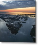 The Mississippi River Gulf Outlet Metal Print